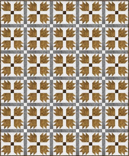Grizzly Bear Paw Quilt Favequilts