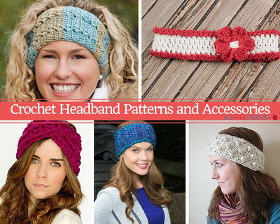 50 crochet headband patterns allfreecrochet 50 crochet headband patterns dt1010fo