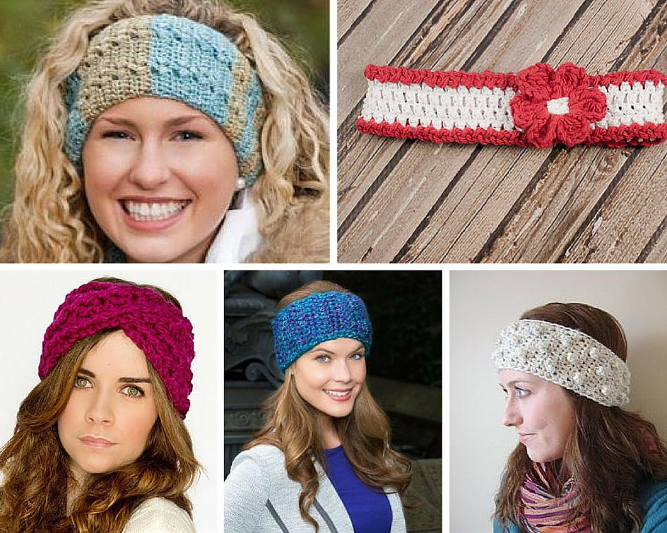 70+ Crochet Headband Patterns | AllFreeCrochet.com
