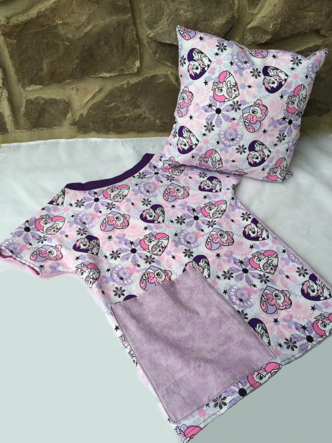 Easy Hospital Gown for Toddlers | AllFreeSewing.com