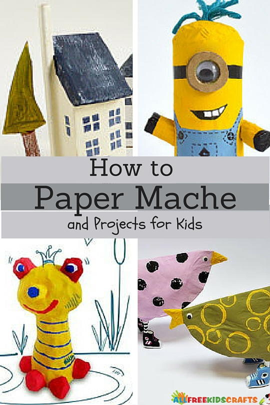 Paper Mache Craft Ideas For Kids Part - 16: How To Paper Mache