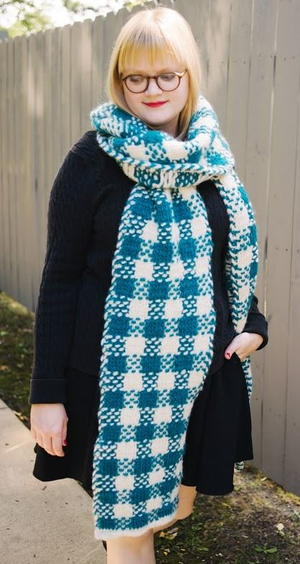 Cozy Plaid Super Scarf