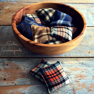 Flannel DIY Hand Warmers