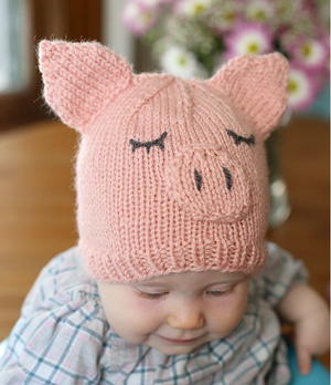 This Little Piggy Went Home Baby Hat