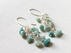 Ocean Cluster Beads DIY Earrings