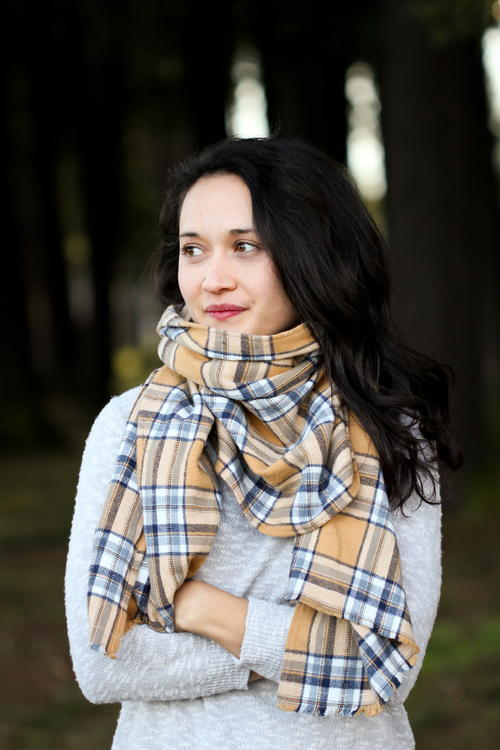 Against the Wind Scarf Pattern