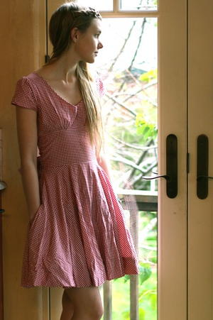 50s Picnic Dress Tutorial