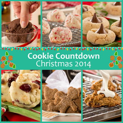 were counting down the days until christmas the best way we know howwith cookies thats right were giving you 25 days of crispy chewy chocolatey - Best Christmas Cookies 2014