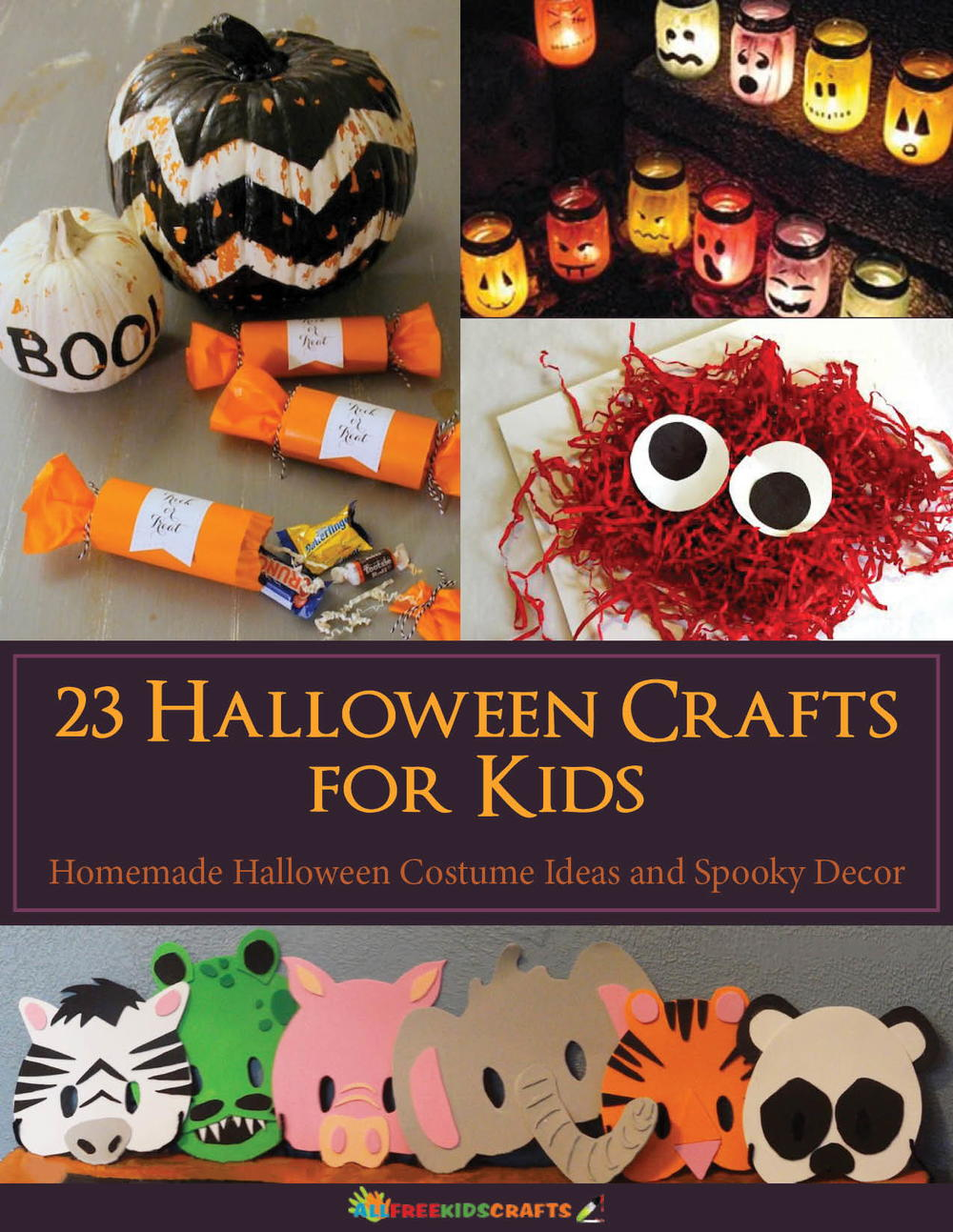 23 halloween crafts for kids: homemade halloween costume ideas and
