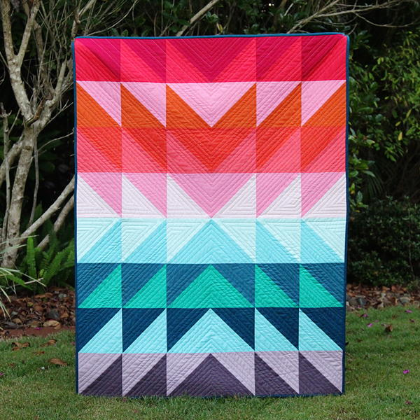 Color Explosion Flying Geese Tutorial | FaveQuilts.com : flying geese quilt tutorial - Adamdwight.com