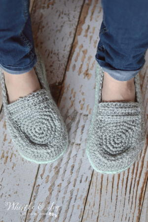 60 Free Crochet Slipper Patterns FaveCrafts Gorgeous Crochet Shark Slippers Pattern Free