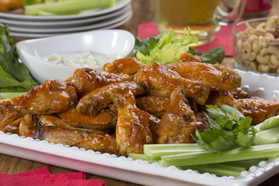 Beer-Soaked Buffalo Wings
