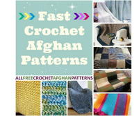32 Fast Crochet Afghan Patterns