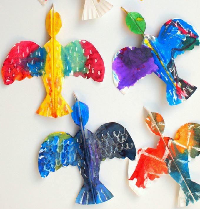 sc 1 st  AllFreePaperCrafts.com & Tropical Bird Paper Plate Crafts for Kids | AllFreePaperCrafts.com