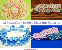 21 Beautifully Beaded Macrame Patterns