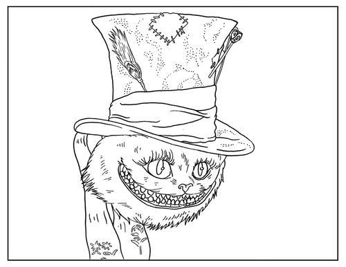 tim burton coloring pages Free Tim Burton Coloring Pages | AllFreeKidsCrafts.com tim burton coloring pages