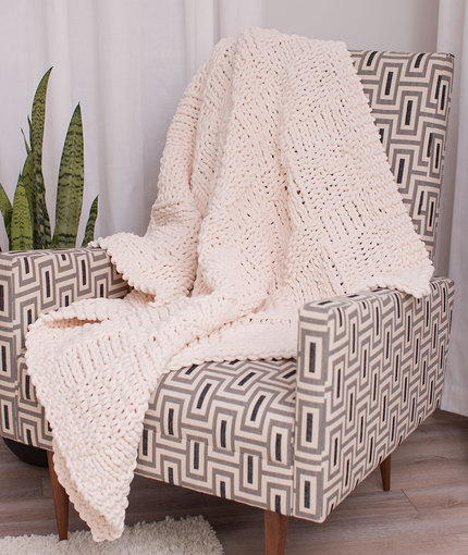 Heavenly Ivory Throw