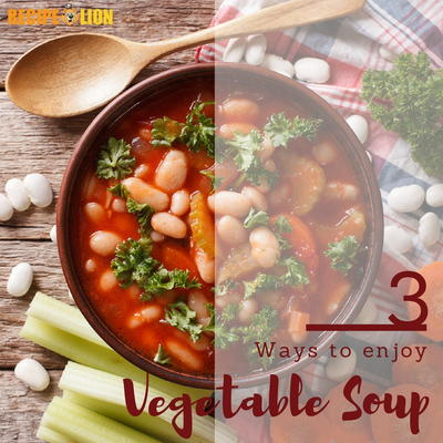 3 Easy Vegetable Soup Recipes