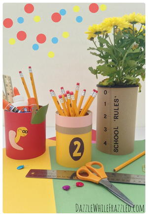 Teacher Gift Tin Can Crafts