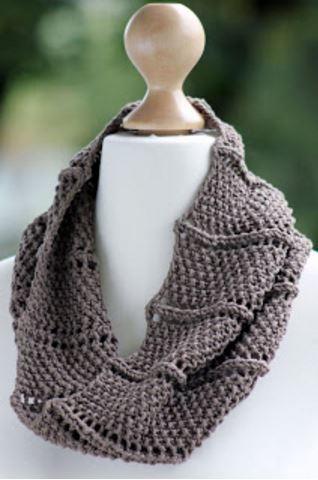 Ridge And Furrow Knit Cowl Pattern Allfreeknitting
