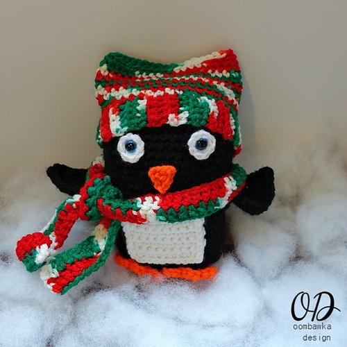 Baby Christmas Penguin | AllFreeCrochet.com