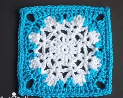 Let It Snow Granny Square