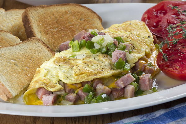 The Worlds Best Western Omelet