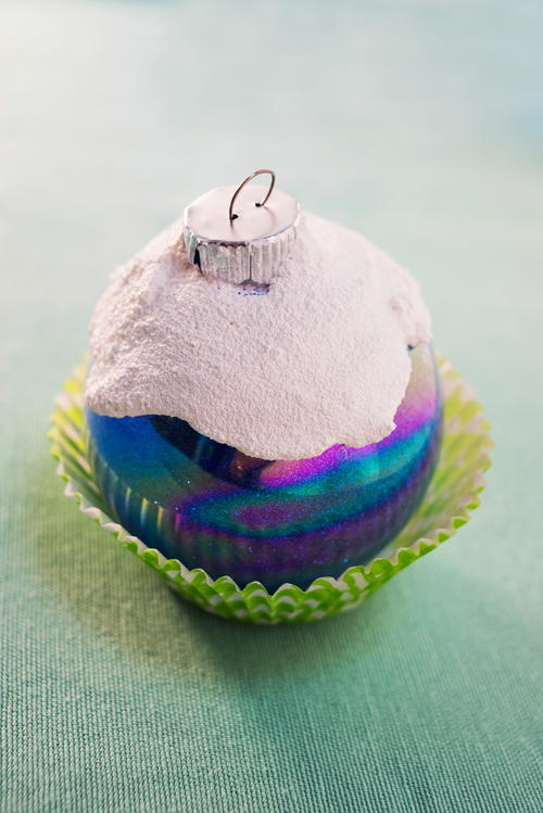 Delicious Cupcake Christmas Ornament