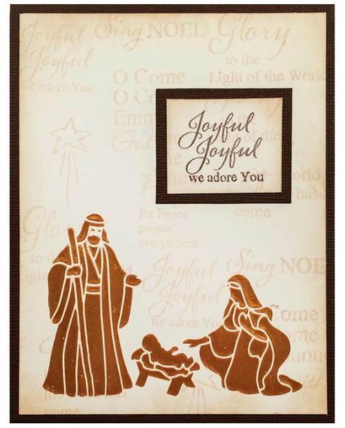 joseph and mary diy christmas card allfreechristmascrafts com