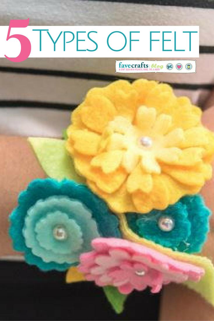 5 types of felt fabric favecrafts izmirmasajfo