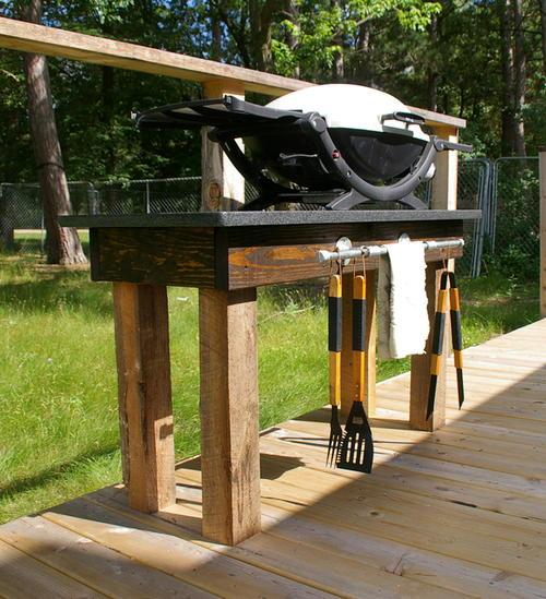 granite top diy grill station diyideacenter com