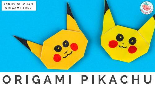 Origami Pikachu Pokemon