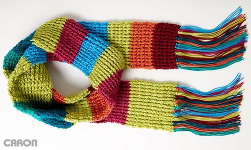 Mood Scarf Crochet Pattern Allfreecrochet