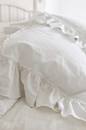 2 Yard Ruffle Pillow Sham