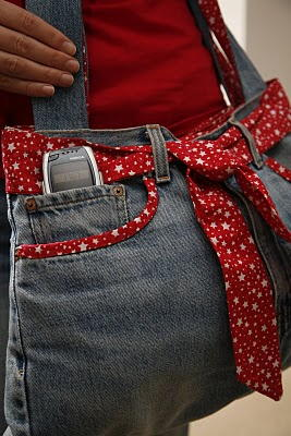 Funky Jeans Bag