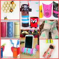 Toilet Paper Roll Crafts: 17 Cardboard Crafts for Kids