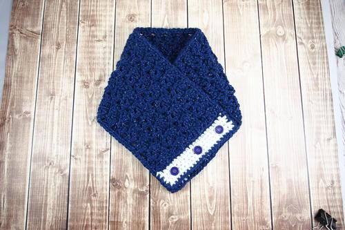 Celestial Button Crochet Cowl   AllFreeCrochet.com
