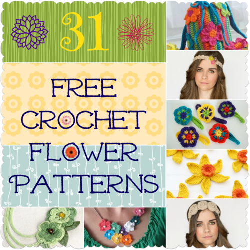 31 Free Crochet Flower Patterns Favecrafts