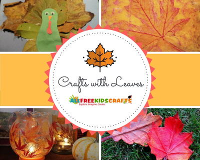 Crafts with Leaves