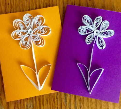 Paper flower quilling for kids allfreepapercrafts paper flower quilling for kids mightylinksfo Image collections