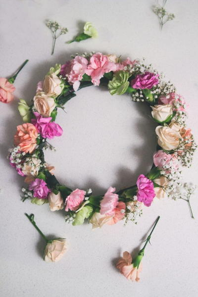 Woodland Princess Flower Crown