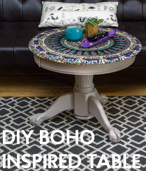 25 Diy Decorating Projects That You Are Inspired To Do: DIY Boho Inspired Table