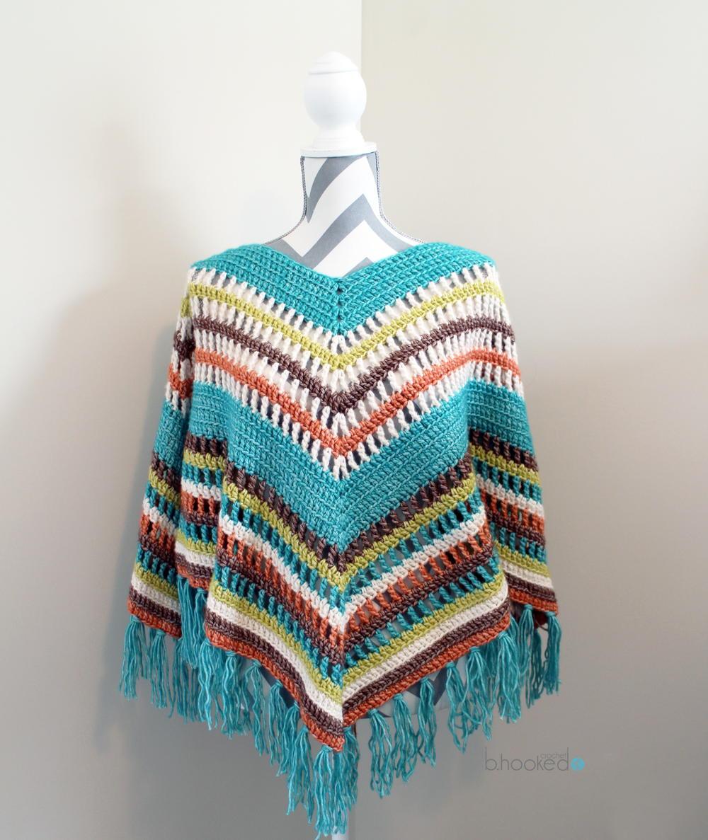 62 Crochet Poncho Patterns   AllFreeCrochet.com