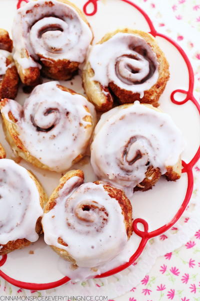 Shortcut Cinnamon Roll Recipe