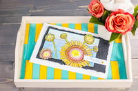 Tray Popsicle Stick Craft