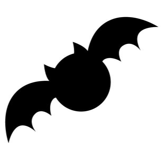 Spooky Bat Applique Template Favequilts Com
