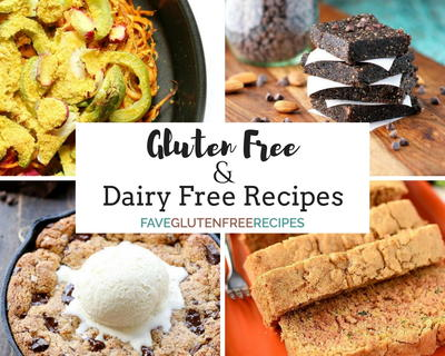 25 Gluten and Dairy Free Recipes