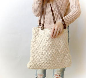Aspen Mountain Knit Tote