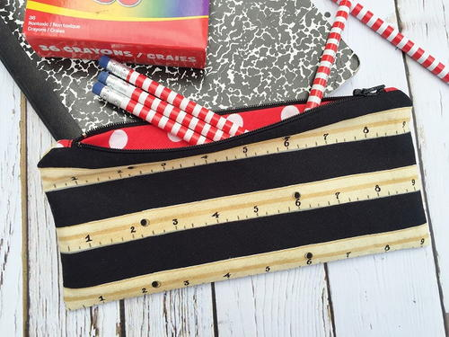 Pencil Zipper Pouch