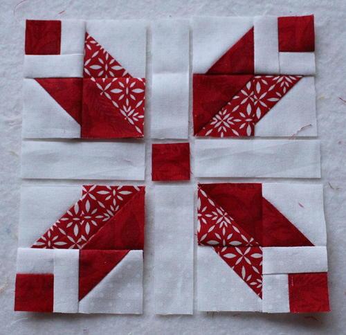 Nordic Star Mini Block Tutorial Favequilts